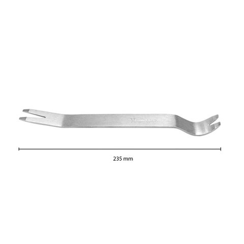 Car Trim Removal Tool (Stainless Steel, 235×20 mm) Preview 1