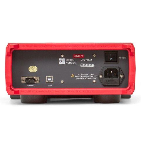 Настільний цифровий мультиметр UNI-T UT805A Прев'ю 3