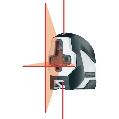 Лазерний рівень перехресний автоматичний Laserliner SuperCross-Laser 2P Прев'ю 1
