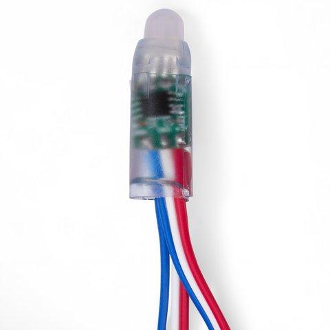 Світлодіодний піксель RGB (50 шт., WS2811, DC 12 В, 12 мм, IP68) Прев'ю 1