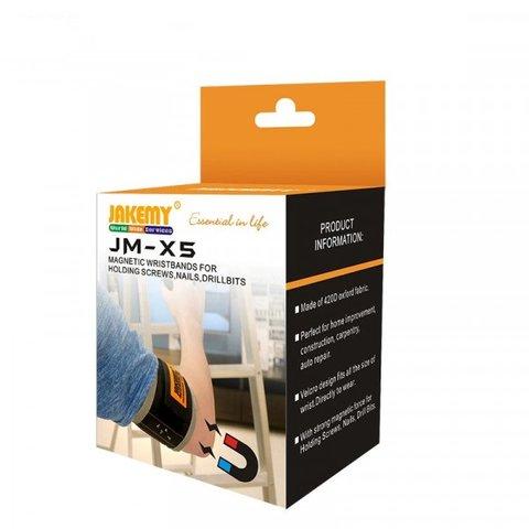 Магнітний браслет Jakemy JM-X5 Прев'ю 3