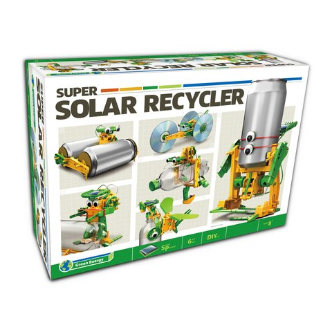 Робот 6 в 1 на солнечных батареях, конструктор CIC 21-616 - /*Photo|product*/
