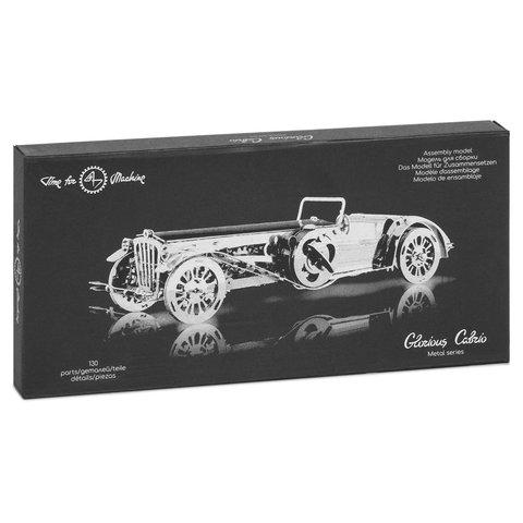 Металевий механічний 3D-пазл Time4Machine Glorious Cabrio Прев'ю 12