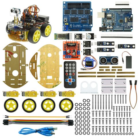 Конструктор Arduino Розумна машинка з Bluetooth-керуванням + посібник користувача Прев'ю 5