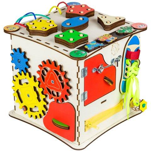 Бизиборд GoodPlay Развивающий кубик (25×25×25) Превью 3