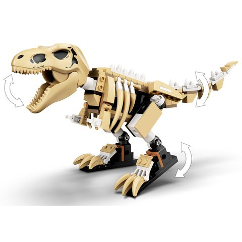 Конструктор LEGO Jurassic World Виставковий скелет тиранозавра 76940 Прев'ю 6