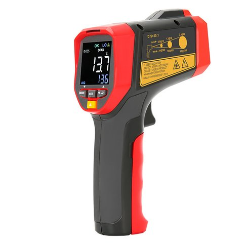 Infrared Thermometer UNI-T UT303A+ Preview 3